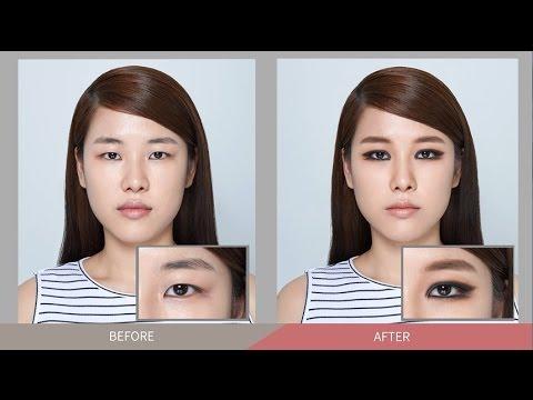 Twiggy Eye Makeup for Single Eyelid - 무쌍 아이 메이크업