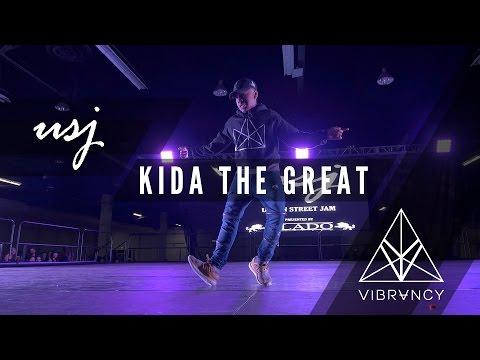 Kida The Great   Urban Street Jam 2017 [@VIBRVNCY Front Row 4K] #urbanstreetjam