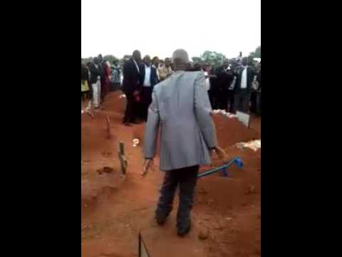 Dancing at funeral in south africa
