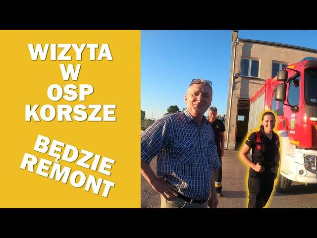 OSP KORSZE - WIZYTA