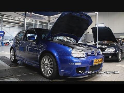 Vw Wallpaper Hd Golf Iv R32 Dsg W Magnaflow Exhaust Sound 1080p Hd