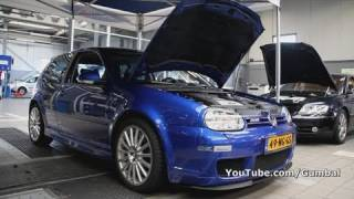 Golf IV R32 DSG w/ Magnaflow exhaust + Sound!! 1080p HD