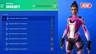Fortnite Season 9 Singularity Skin All Unlockable Styles