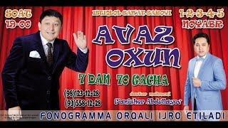 Video Avaz Oxun - 7-dan 70-gacha nomli konsert dasturi 2017 download MP3, 3GP, MP4, WEBM, AVI, FLV Maret 2018