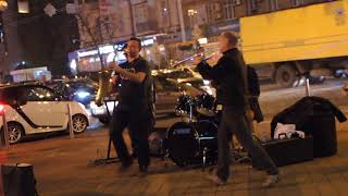 Уличные музыканты Киева.CHARLIE BAND (2017)