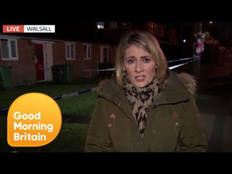 8-Year-Old Stabbing Victim Named   Good Morning Britain