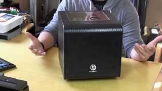Thermaltake Core V1 Mini-ITX Case Overview