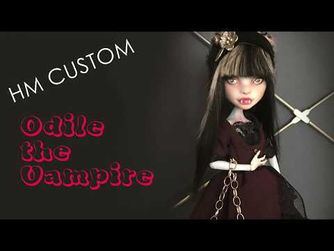 Custom Doll | Odile-the vampire | Story #7