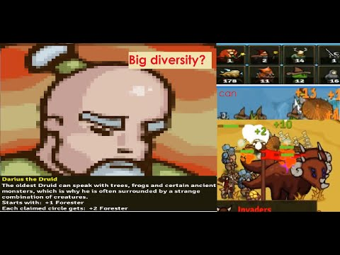 Circle Empires: Rivals Defend the Castle Impossible // Darius the Druid. Big Baniters. |