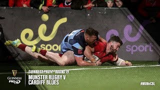 Guinness PRO14 Round 19 Highlights: Munster Rugby v Cardiff Blues