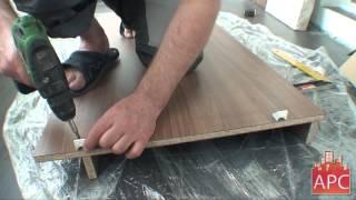 АРСеналстрой - встроенный компьютерный стол и шкаф на лоджии(Компания АРСеналстрой демонстрирует процесс изготовления и монтажа встроенного шкафа и компьютерного..., 2013-12-13T10:41:08.000Z)