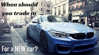 When should you trade in for a new car?