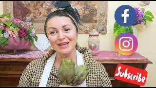 Le ricette segrete di Tamy - Tagliolini con crema di carciofi