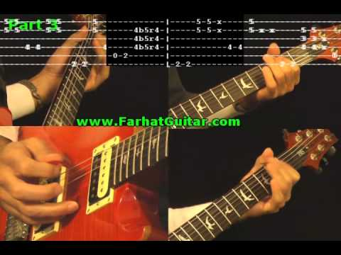 Foxy Lady - Guitar Cover with Tabs 8/8 Full Version Jimi Hendrix