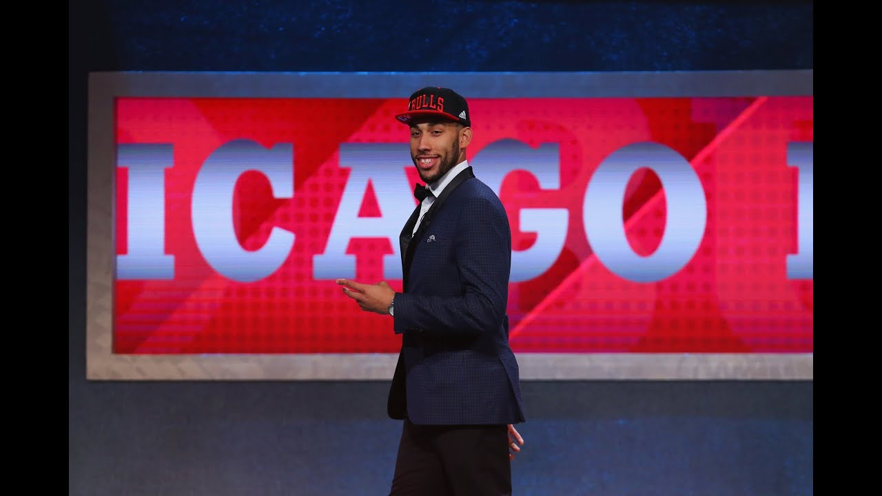 f9511cb89fb Chicago Bulls Select Denzel Valentine 14th in 2016 NBA Draft - YouTube