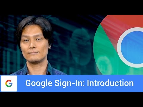 Introduction To Google Sign-In For Websites