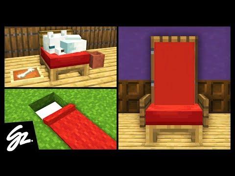 10 Minecraft Bed Build Hacks