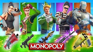 The *RANDOM* Monopoly Skin CHALLENGE In Fortnite! thumbnail