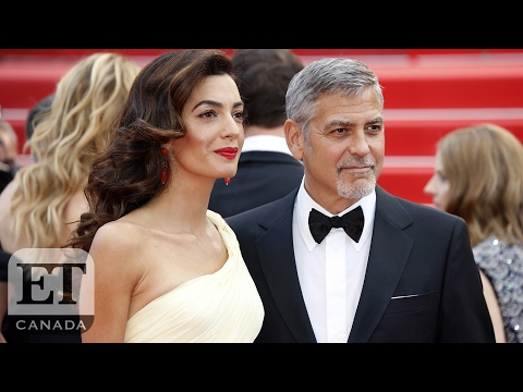 George And Amal Clooney Expecting Twins, Matt Damon Confirms