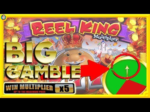 🙈 BIG GAMBLES on NEW SLOTS: Reel King Multiplier, Centre Point & Pots O Riches !!! 🙈 - 동영상