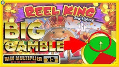 🙈 BIG GAMBLES on NEW SLOTS: Reel King Multiplier, Centre Point & Pots O Riches !!! 🙈