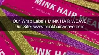 $50 make 1,000pcs Bundles Wraps Labels Mink Hair Tags