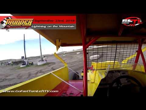 """""""Super"""" Matt Sheppard @ Thunder Mountain Speedway - Short Track Super Series Heat Race - 9/23/18"""