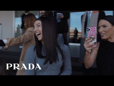 Prada invited Charli D'Amelio in Milan for the Prada Fall/Winter 2020 Womenswear Show