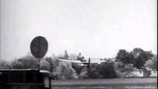 RAF No 56 Squadron 1941 Hawker Typhoon take off