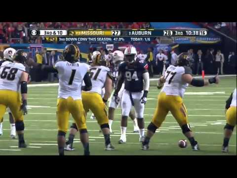 Auburn Tigers vs Missouri Tigers Full Football GAME HD 2013 - SEC Championship