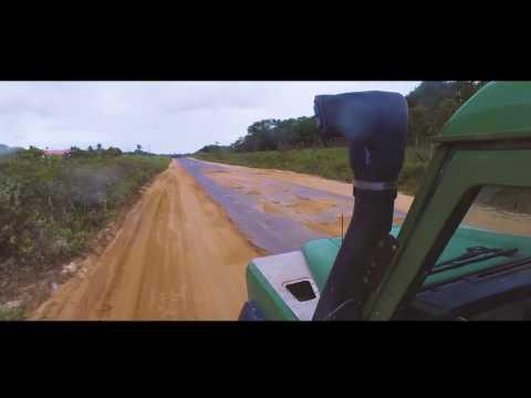 Land Rover trip to Laluni Guyana