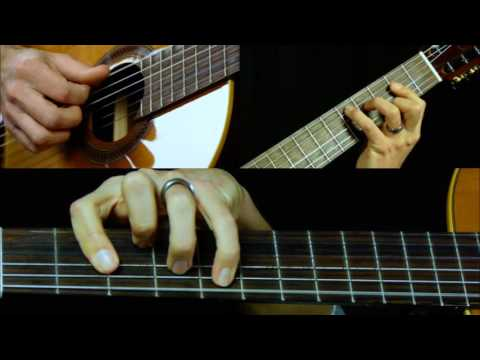 Canon In D Classical Guitar Lesson Part 1 | How To Play