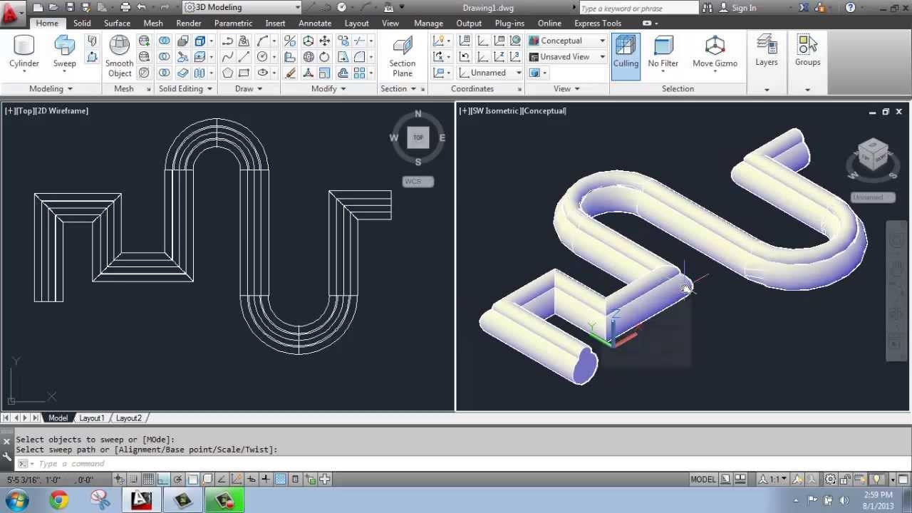 tutorial autocad 2013 3d pdf