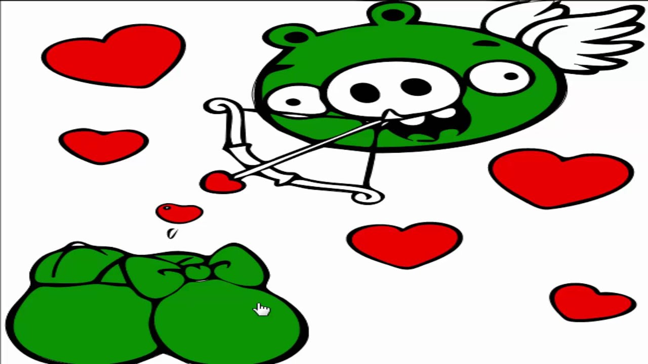 angry birds coloring pages minion pig u0026 love amour youtube