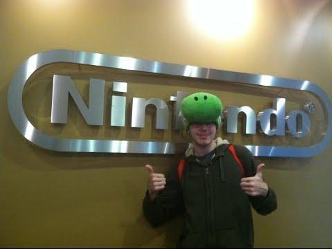 Walking to Nintendo of Redwood City, California