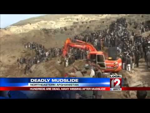 Rescuers struggle to help Afghans hit by landslide