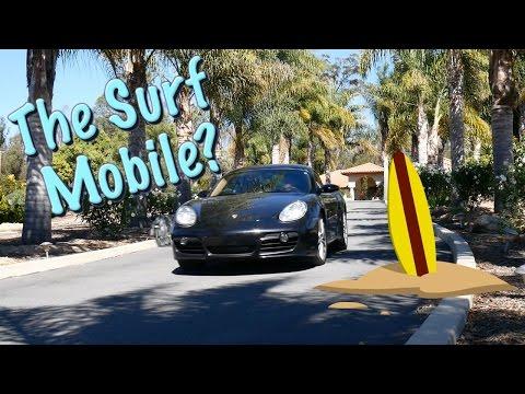Porsche Cayman: A Surfer's Car?