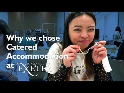 University of Exeter Catered Accommodation