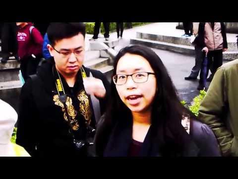 Make Taiwan Great Again--USA Woman Preacher in Taiepi 228 Peace Park