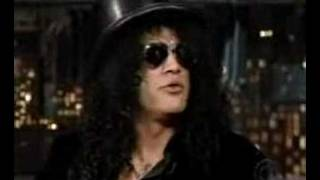 Slash on The Late Show with David Letterman