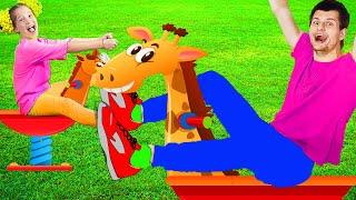 Игры на детской площадке | Playground Song | Песенки для детей от Ба Би Бу