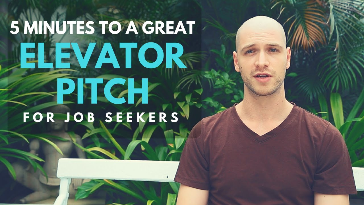 elevator pitch for job seekers how to answer tell me about elevator pitch for job seekers how to answer tell me about yourself in the interview