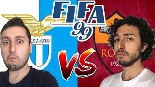 LAZIO - ROMA NEL 1999?! FIFA 99 RETRO GAMEPLAY ITA