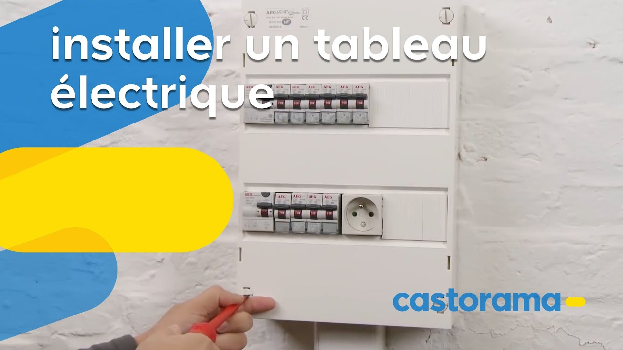 Installer un tableau lectrique secondaire castorama youtube - Comment installer un groupe filtrant ...