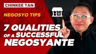 NEGOSYO TIPS 7 Qualities Of A Successful Negosyante