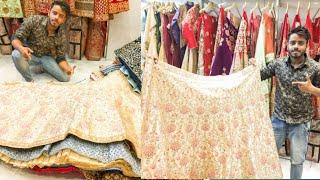 LEHENHA MARKET DELHI STARTING 1000/₹ |Bridal Lehega CHANDI CHOWK
