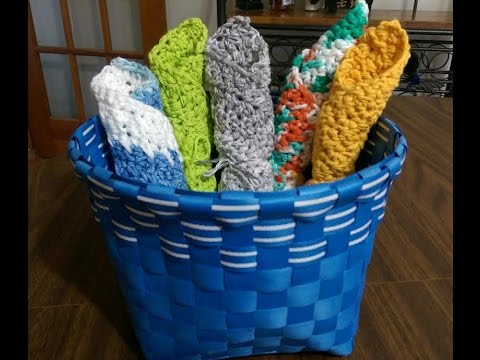 The Exfoliator! Spa and Kitchen Cloth FREE Crochet Pattern
