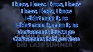 I Know What You Did Last Summer - Shawn Mendes & Camila Cabello (Lyrics + Audio)