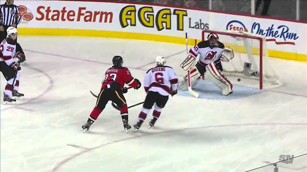 New Jersey Devils Vs Calgary Flames 22 11 2014 Youtube