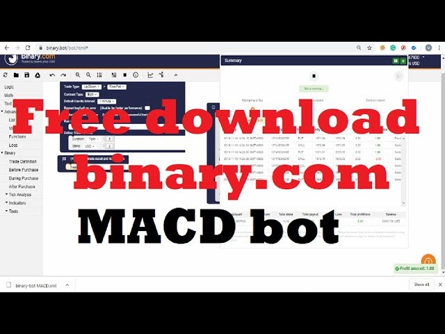 Free download binary.com MACD bot